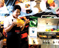 Our friendly staff at BBQ shop
