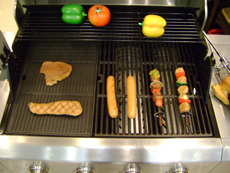 grill and hotplate